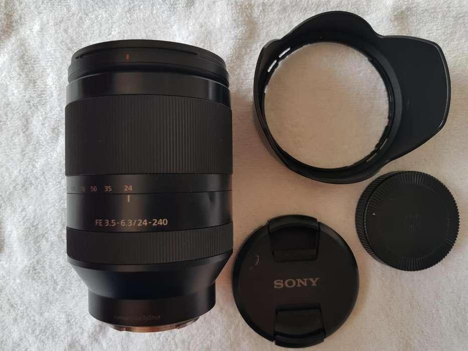 Lente <strong>sony</strong> Sel242400 Fe 24240mm Emount Super Zoom