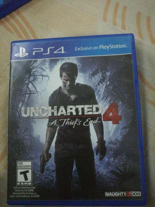 Vendo Uncharted 4