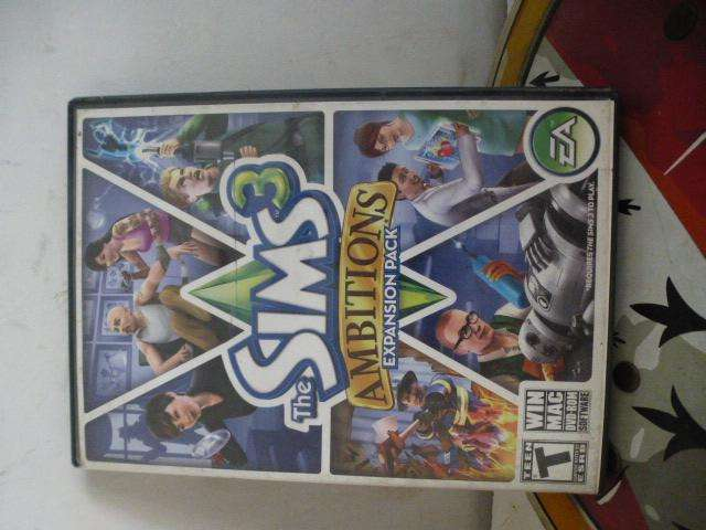 JUEGO PC SIMS EAMBITIONS EXPANSION PACK