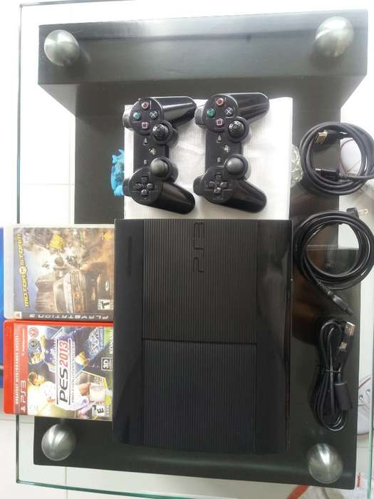 Vendo Ps3 Super Slim