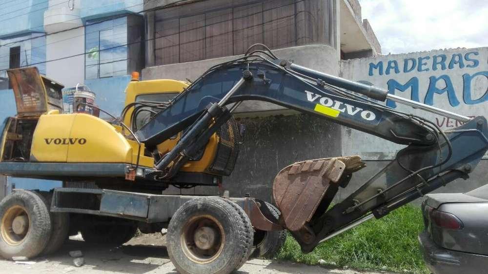 Vendo Excavadora Neumática Sansung Mx132
