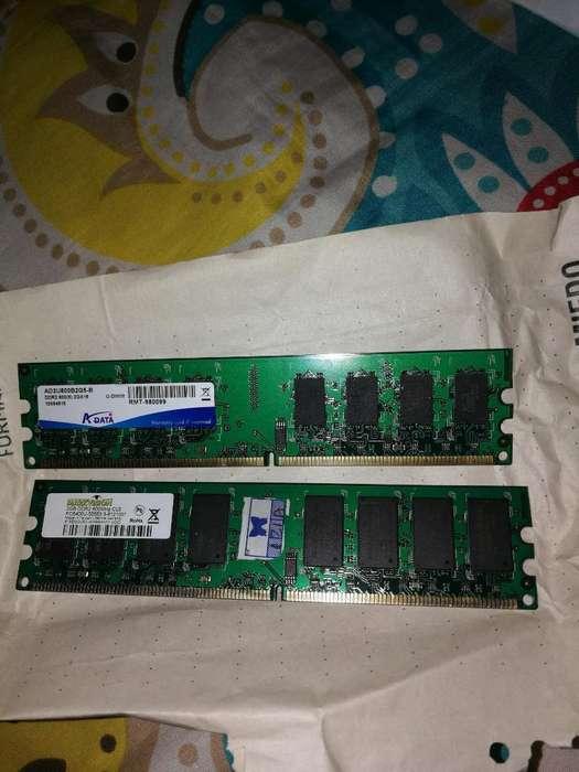 Memorias Ram Ddr2 2gb