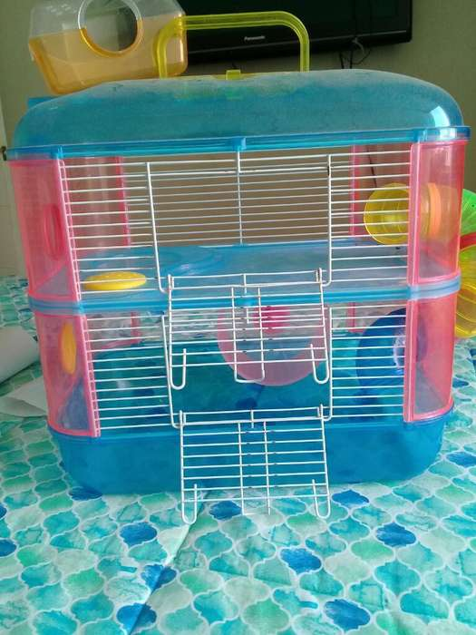 Oferto 2 Jaulas para Hamster Importada