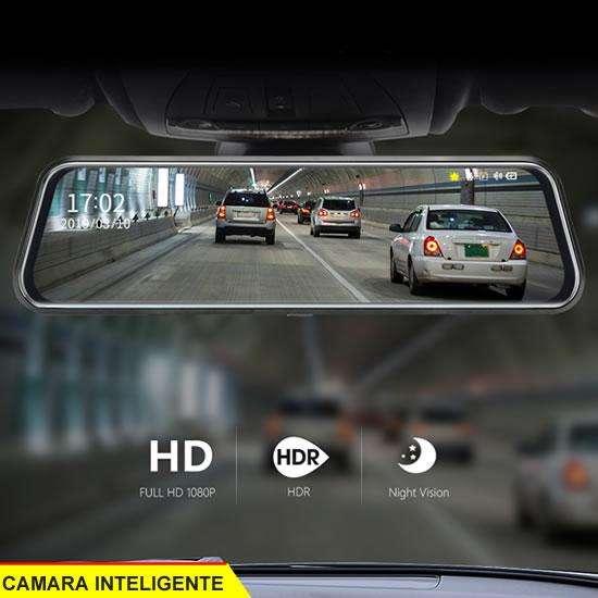 camara espejo retrovisor DVR para auto y camion