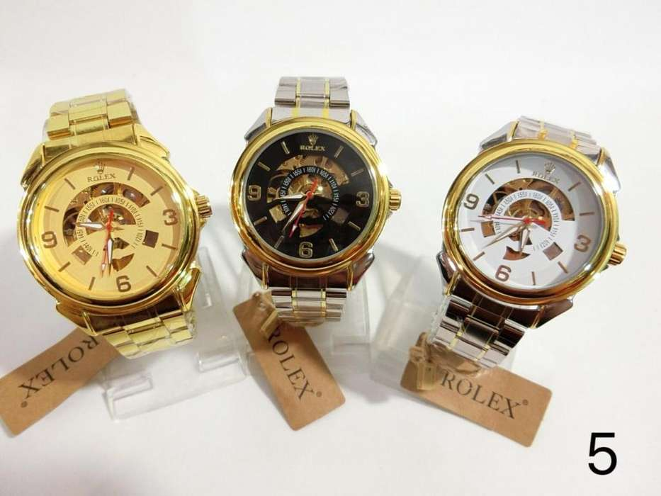 Reloj Automático <strong>casio</strong> Rolex Y Fossil