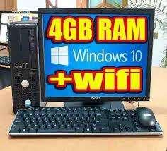 vendo computadoras completas a 300 soles 4 gigas de ram señal wifi