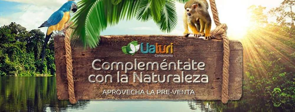 Condominio Iquitos Lotes desde 500.00m2