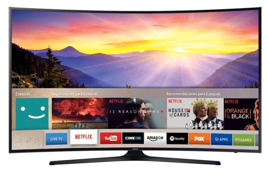 Televisor Curvo Smart Tv 4k UN65KU6300G