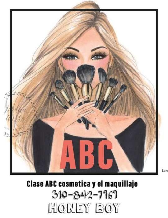 Clase ABC de Automaquillaje. 30.000