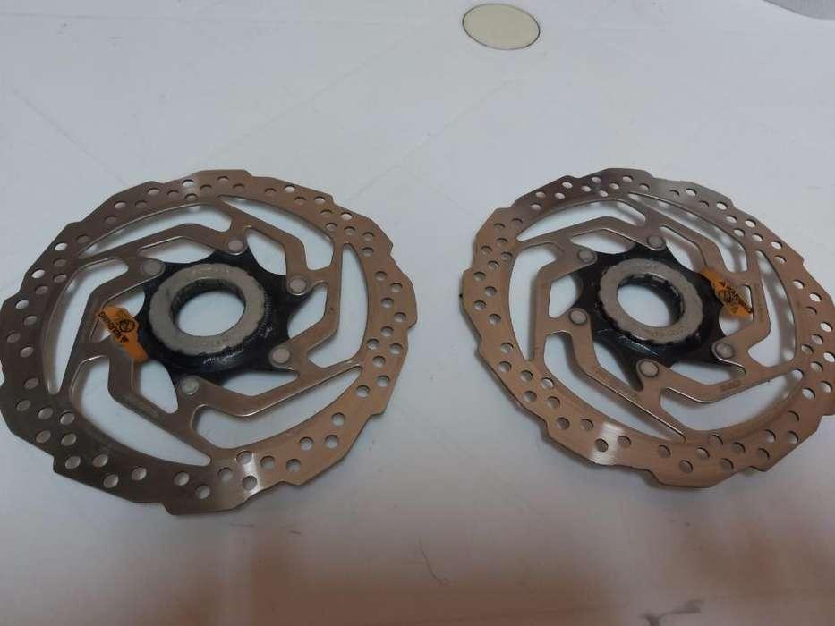 Discos de Freno Shimano 160mm Centerlock