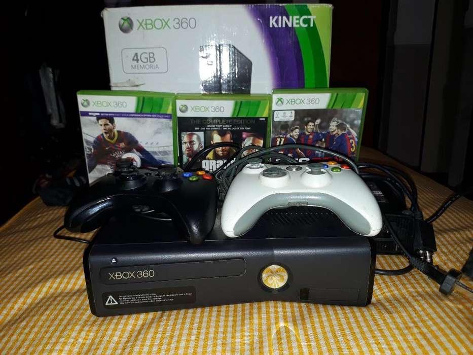 Vendo Xbox 360 Como Nueva