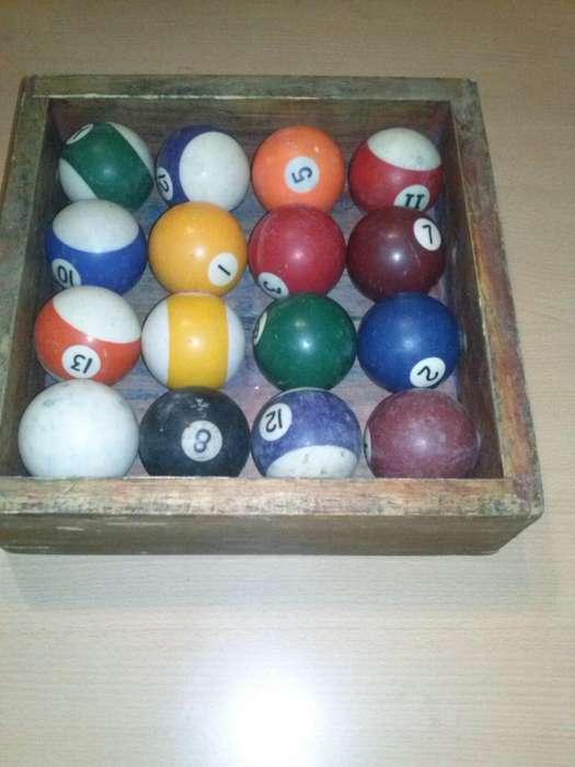 bolas de pool, en buen estado, juntas o por unidad