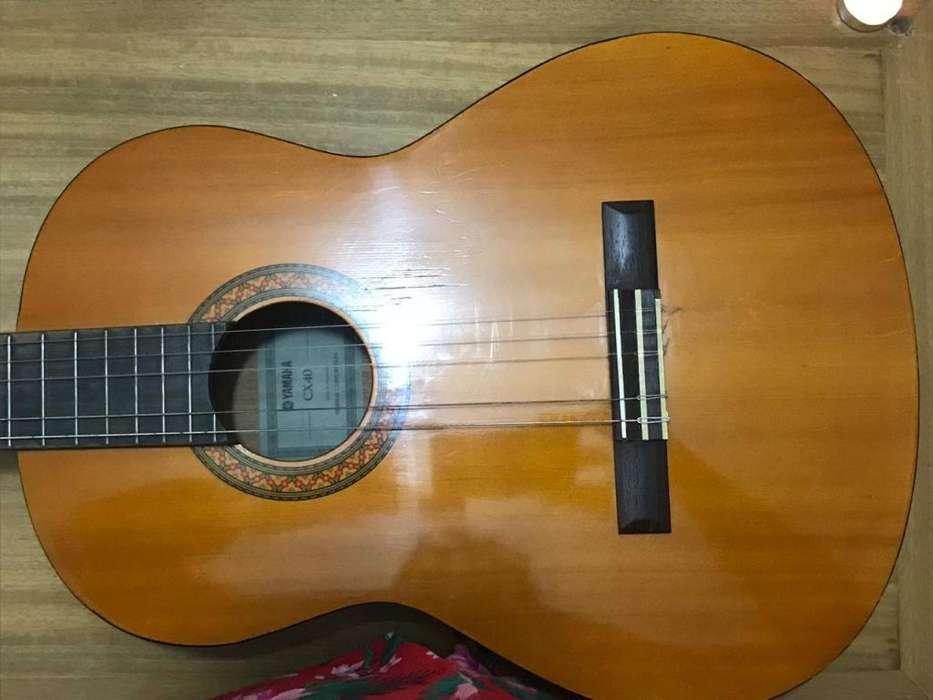 guitarra yamaha cx40 (no le sirve el microfono)