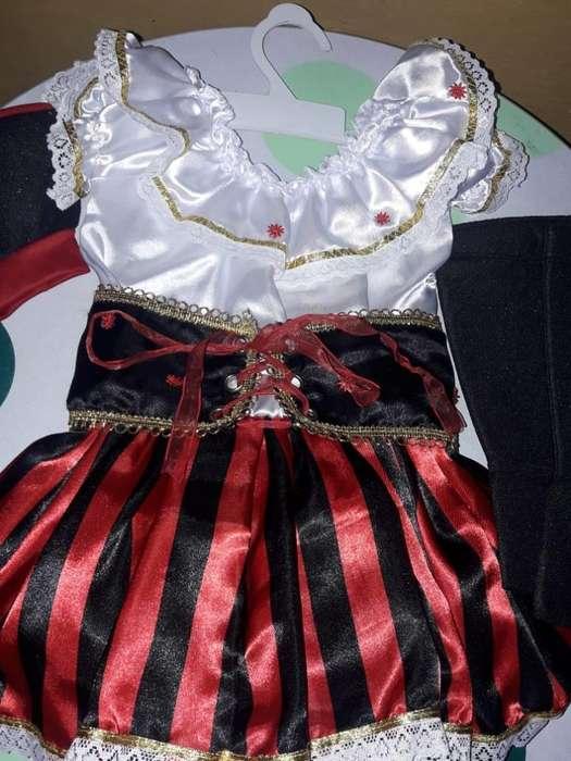 Disfraz Pirata Bebe Niña