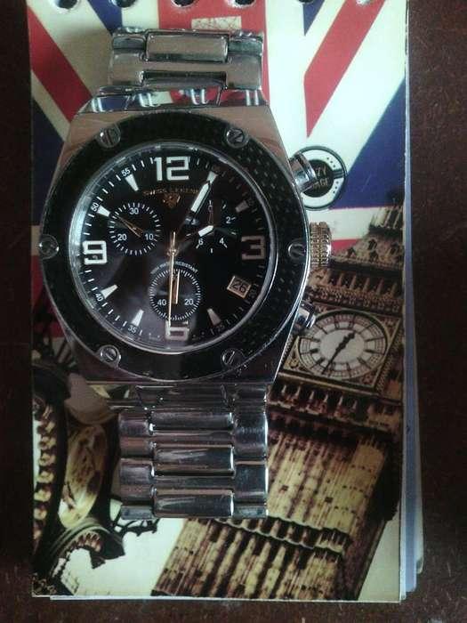 Reloj Swiss Legend 40025p Cronografo Dorado Cristal Safiro