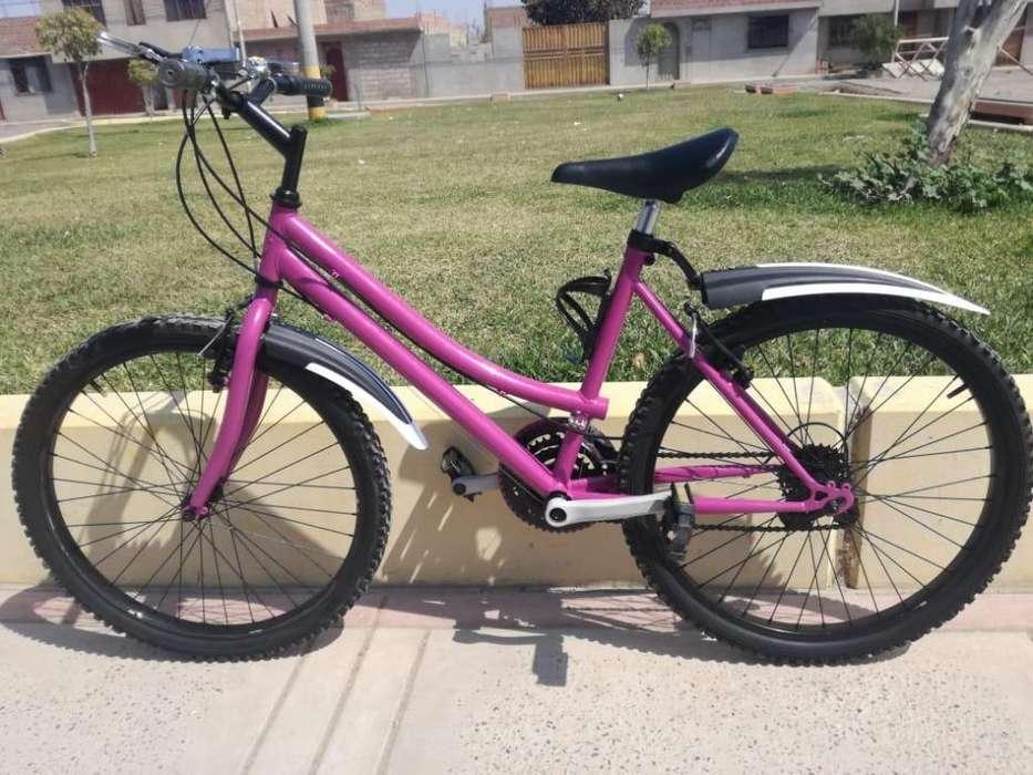 se vende bicicleta montañera aro 24