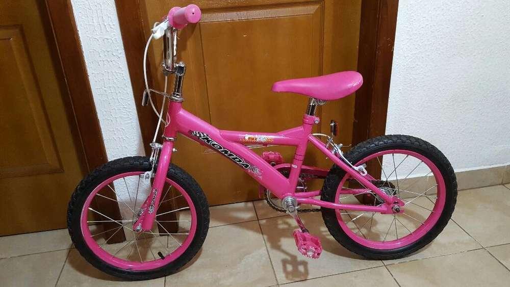Bicicleta para Niña 6 a 8 Años Aro 16