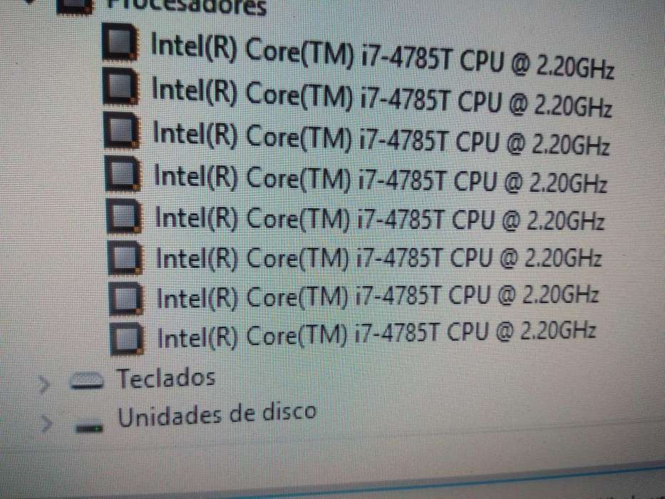 Vendo torre Hp Mini core i7