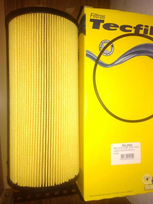 Filtro De Aceite Tecfil Pel2004 mann Hu12110x P/ Mb Axor