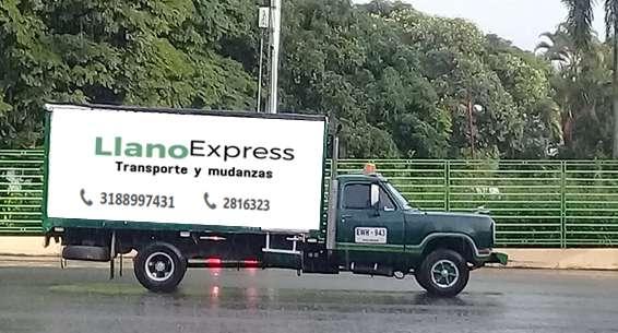 Servicio de mudanza y transporte de mercancías