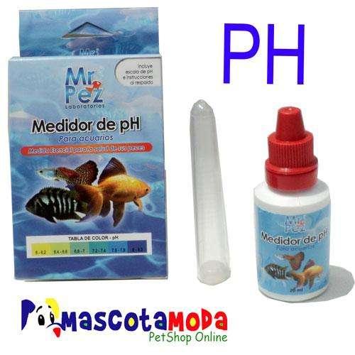 Test de pH en gotas para acuarios y peceras
