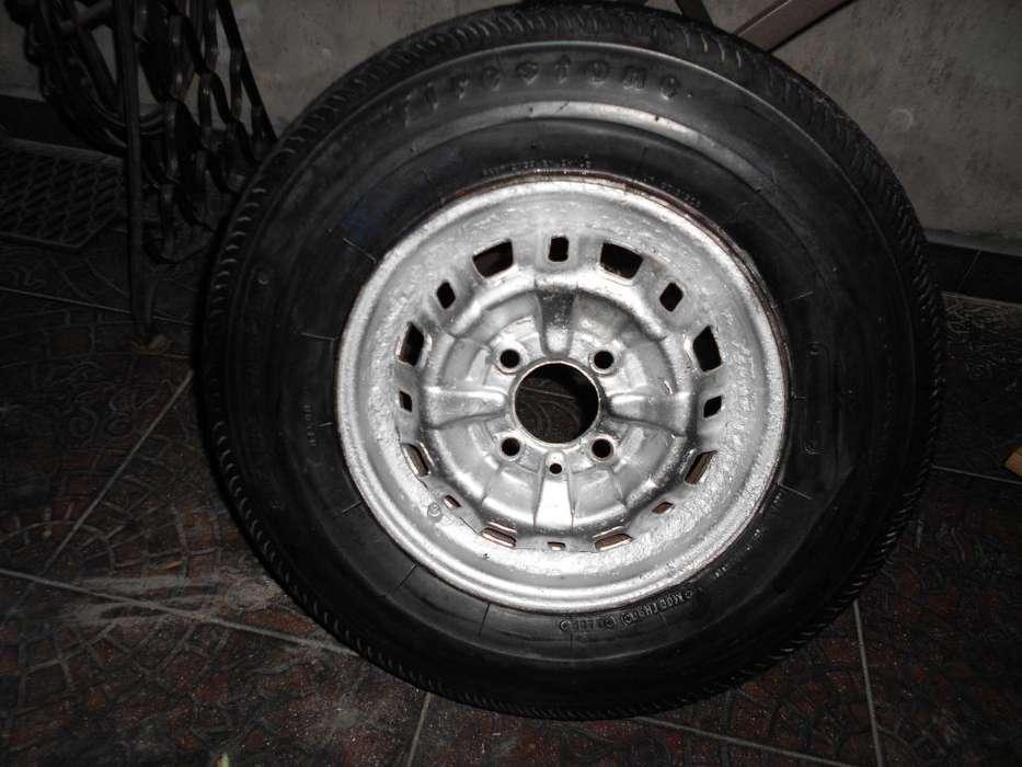 Fiat 600 rueda completa