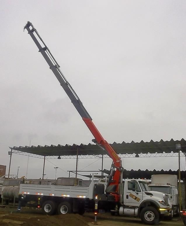ORETRANS VENDE Camion grua Palfinger PK 52002 año 2012 BHA 15tn