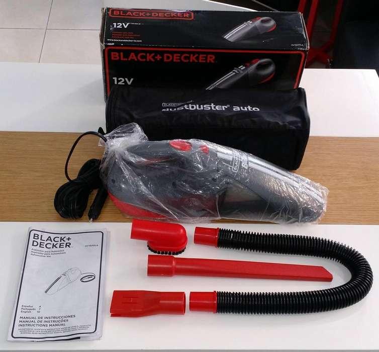 Aspiradora Nueva Auto 12v Black Decker Portatil <strong>accesorio</strong>s