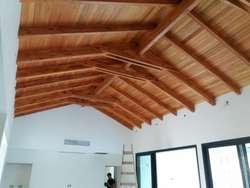 Estructura de Techos en Maderas