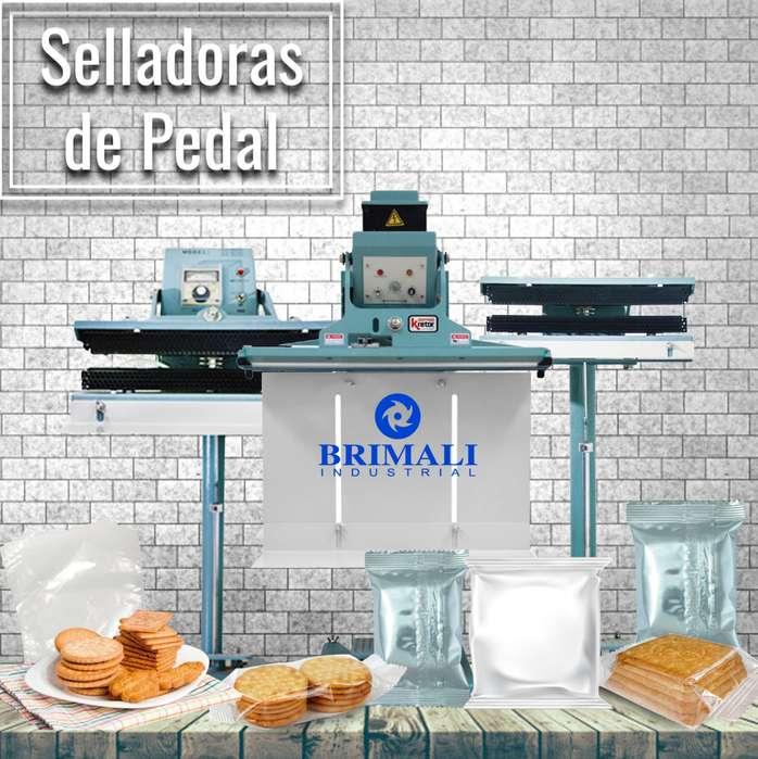 SELLADORA DE PEDAL - BRIMALI INDUSTRIAL