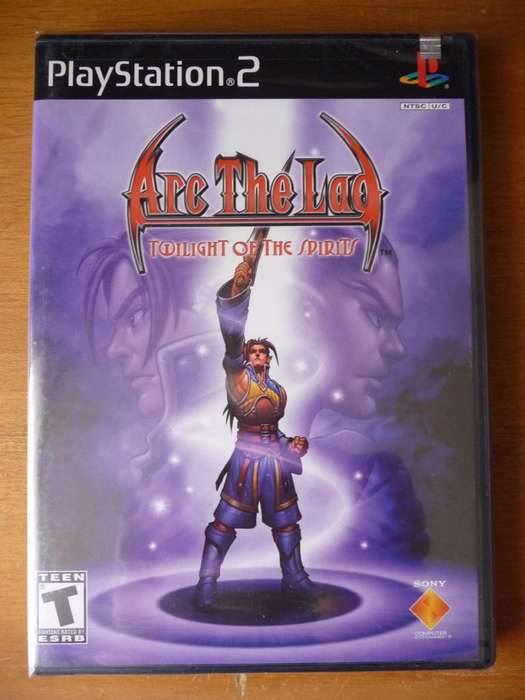Arc the Lad: Twilight of the Spirits PS2 Sellado
