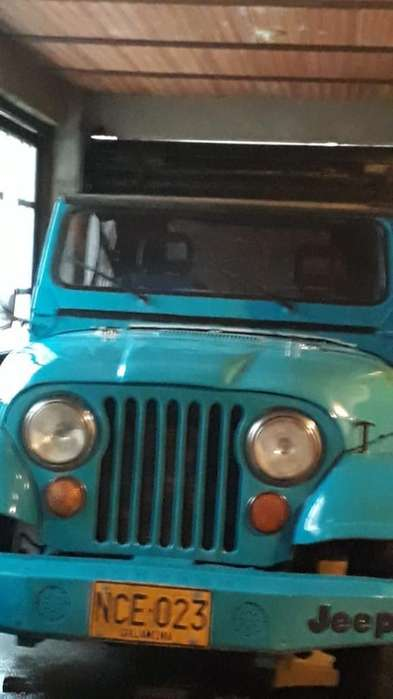 <strong>jeep</strong> CJ 1977 - 1234567 km