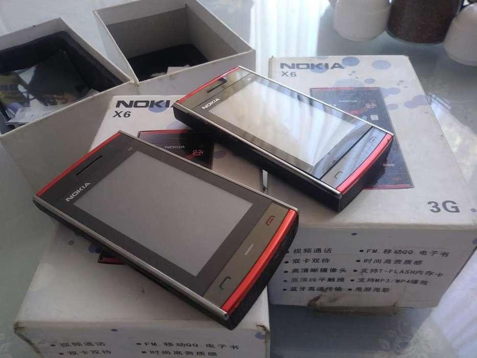 Remato Celular Nokia X6 Nuevo Y Barato