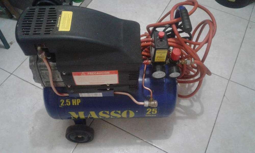 Vendo Compresor de Aire 2.5 HP... 25 Litros