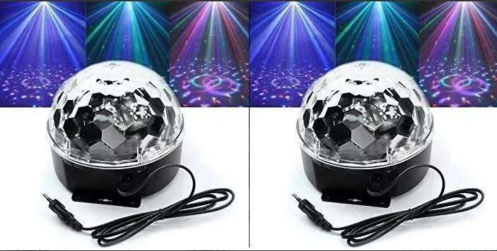 Bola Led Multicolor Parlante Mp3 Usb Audio Fiestas Eventos combo 2 unidades Tecno Cooler