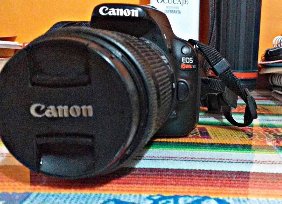 Camara Canon Eos Rebel SL1 Excelente estado