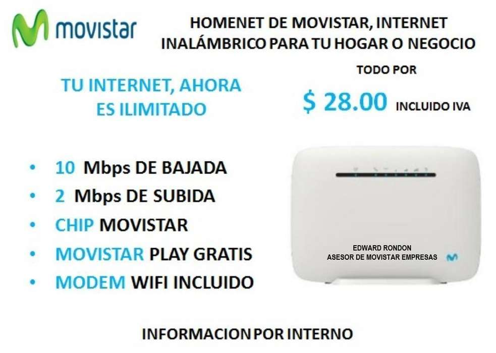 INTERNET HOMENET <strong>movistar</strong> EMPRESAS