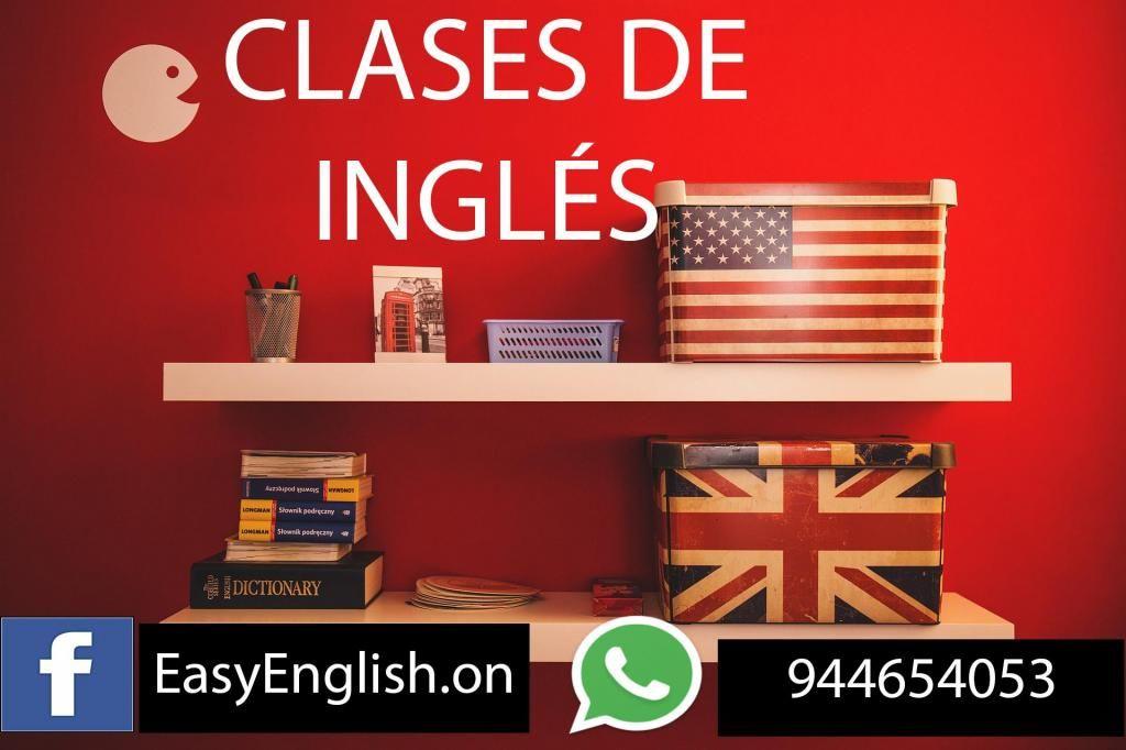 CLASES DE INGLÉS VIRTUALES -  CUSCO - TRABAJOS EXÁMENES -944654053