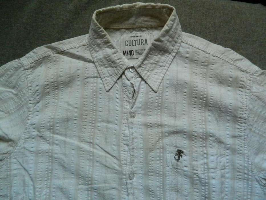 <strong>camisa</strong> Cultura talle 40 Medium genial