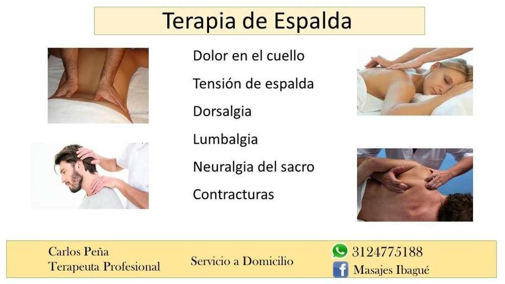Dolor de Espalda: Terapia de Espalda, Masaje de Espalda en Ibague