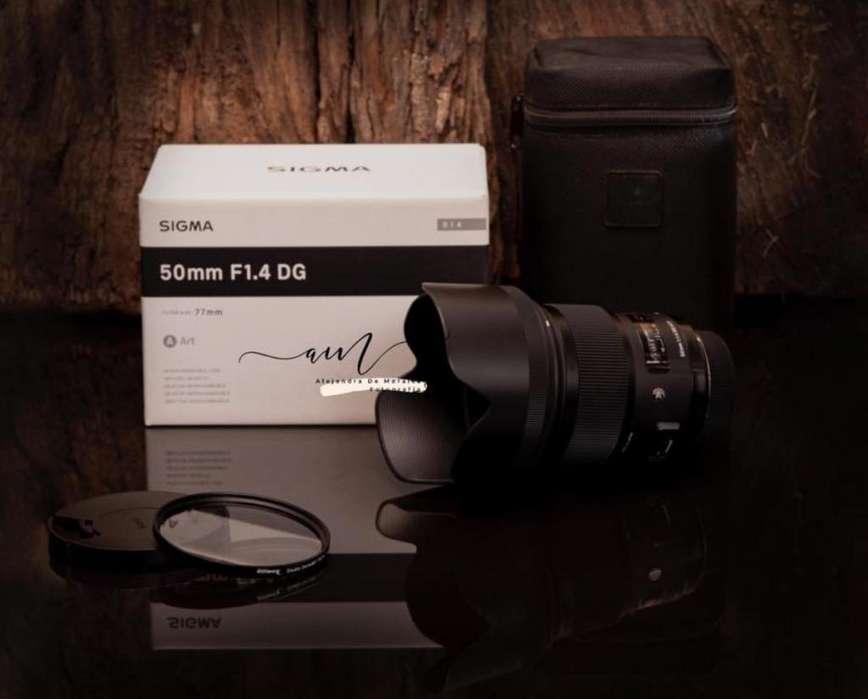 Lente Sigma Art para Nikon 50 Mm 1.4