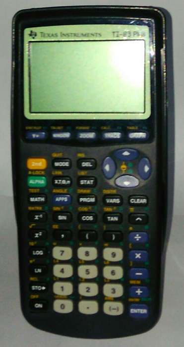 Calculadora Ti 83 Plus Graficadora