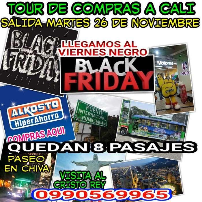 Tour de Compra Y Paseo Cali Colombia
