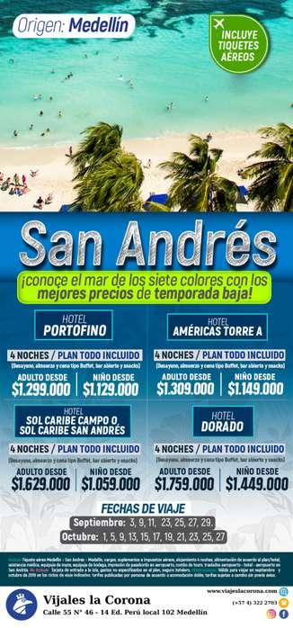 Viaje como un Rey a San Andrés con Viajes la Corona sep