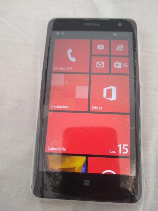 Nonia Lumia 625 con Accesorios Nuevos
