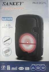 Parlante Amplificador Sankey 8 Bluetooth Radio Usb Bateria