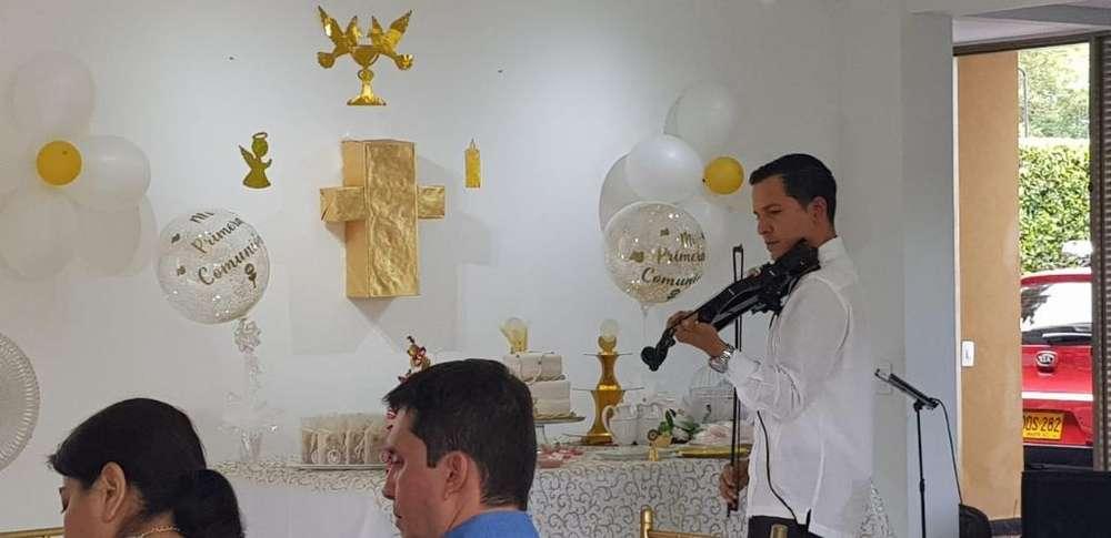 Violinista en Cali
