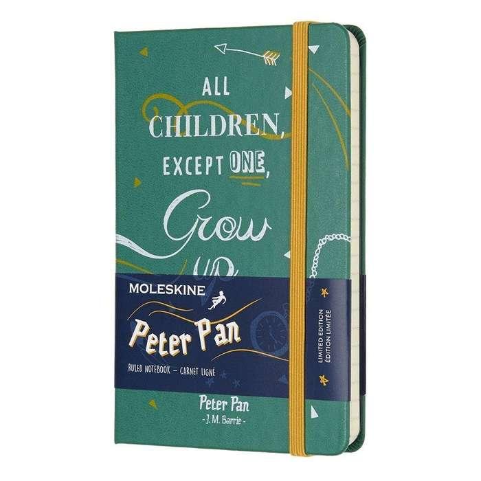 Libreta Moleskine Edicion Limitada * Peter Pan * Pasta Dura