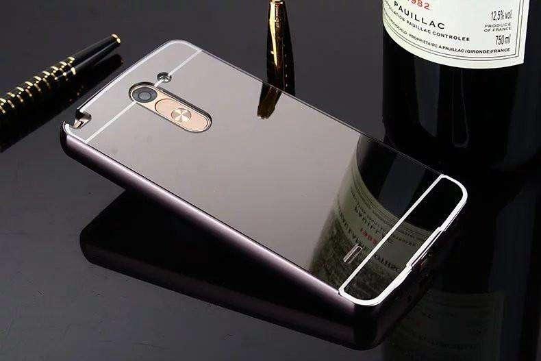 Case bumper espejo Lg G3 Note 5 Samsung S6 S7 Edge Iphone 5