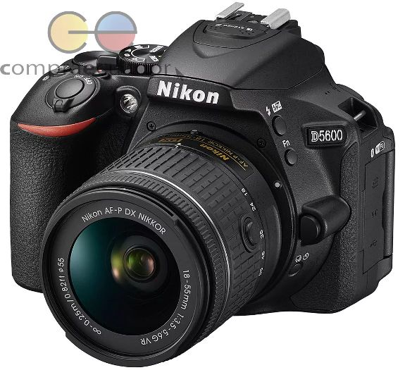 Nikon D5600 Cámara Profesional 24.2mp Fullhd Lente 1855mm